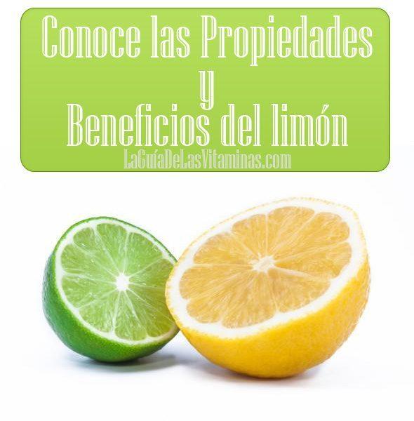 Propiedades del limon la guia de las vitaminas for Usos del limon para verte mas atractiva