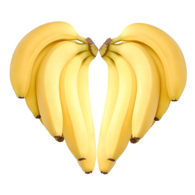 corazon-hecho-con-bananos