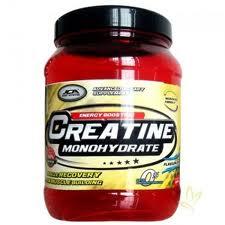 Tipos de suplementos, monohidrato de creatina
