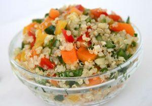 Cómo preparar ensalada de quinoa
