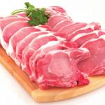 alimentos altos en hierro carne de cerdo