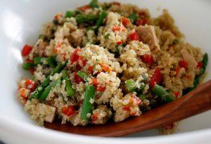 quinoa y atun