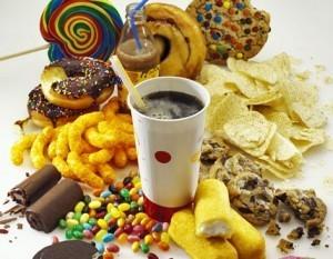 alimentos altos en azucares y sodio