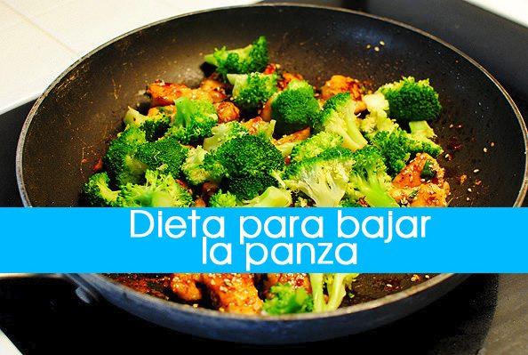 dieta-para-bajar-la-panza