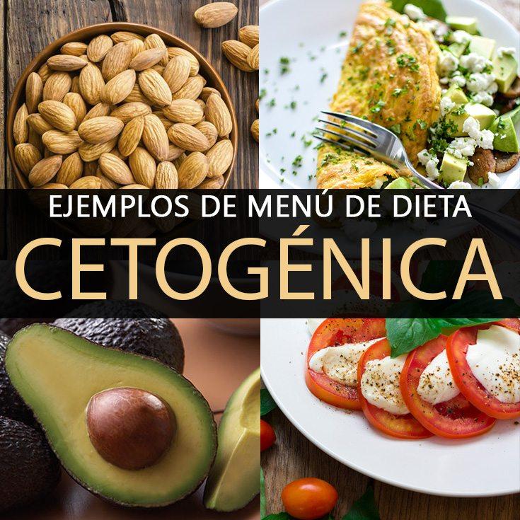 Dieta cetogenica para bajar de peso menu