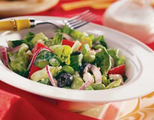 ensaladas para bajar de peso ensalada-griega