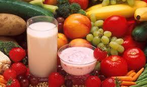 frutas yoghourt