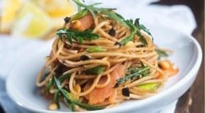 Pasta con salmón, dos recetas muy sencillas