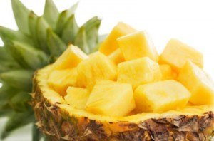 Piña-frutas diuréticas