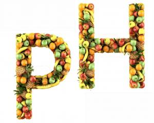 alimentos ácidos y alcalinos  ph