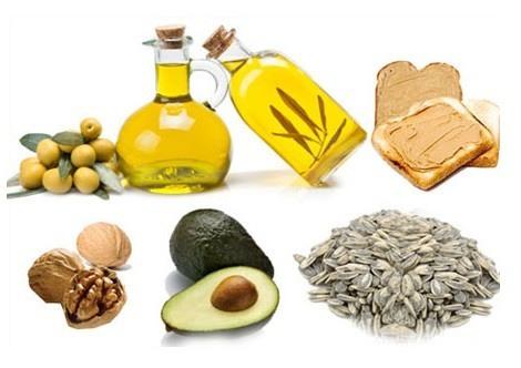 alimentos ricos en grasas insaturadas