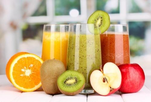 desayunar zumos y batidos de frutas