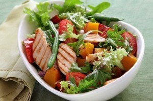 ensalada comida baja en calorias