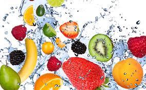 frutas agua