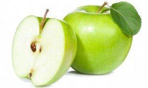 manzana- frutas diuréticas