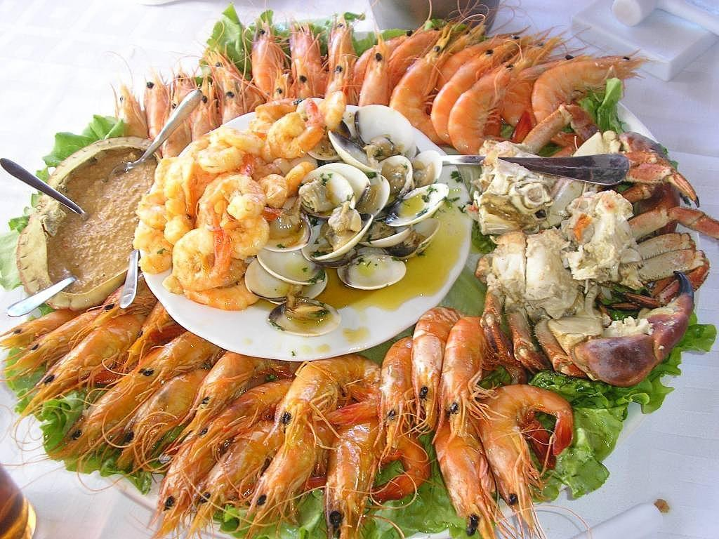 mariscos alimentos ricos en colesterol