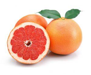 toronja o pomelo- frutas diuréticas