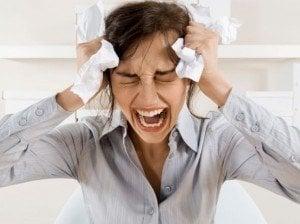 Síntomas de estrés notorios