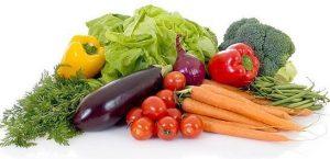 alimentos ricos en potasio verduras