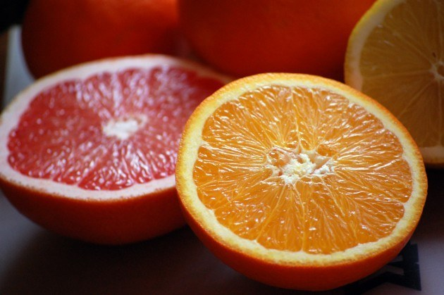 jugos para adelgazar- frutas cítricas