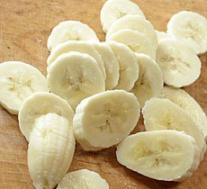 postre rápido plátano