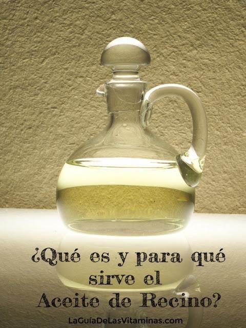Aceite de Recino