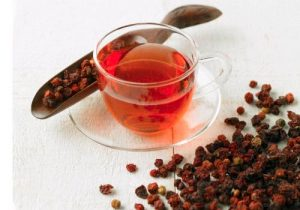 Dieta del té rojo-infusion