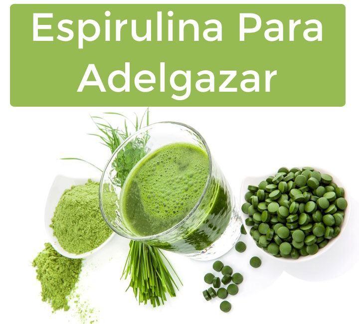 Espirulina-Para-Adelgazar