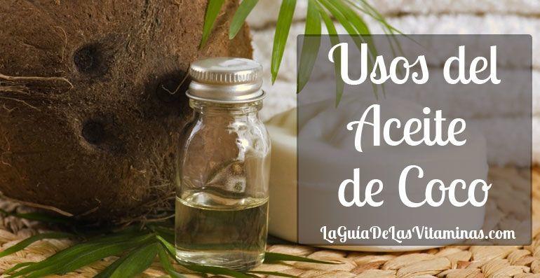 Uso del Aceite de Coco