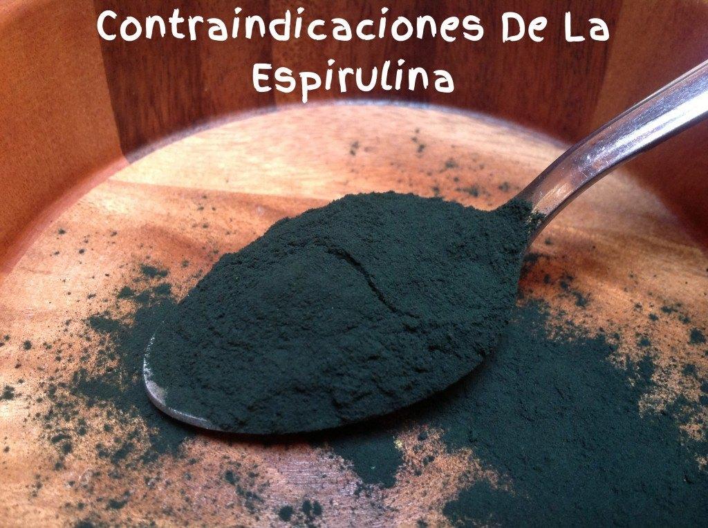 Contraindicaciones de la Espirulina