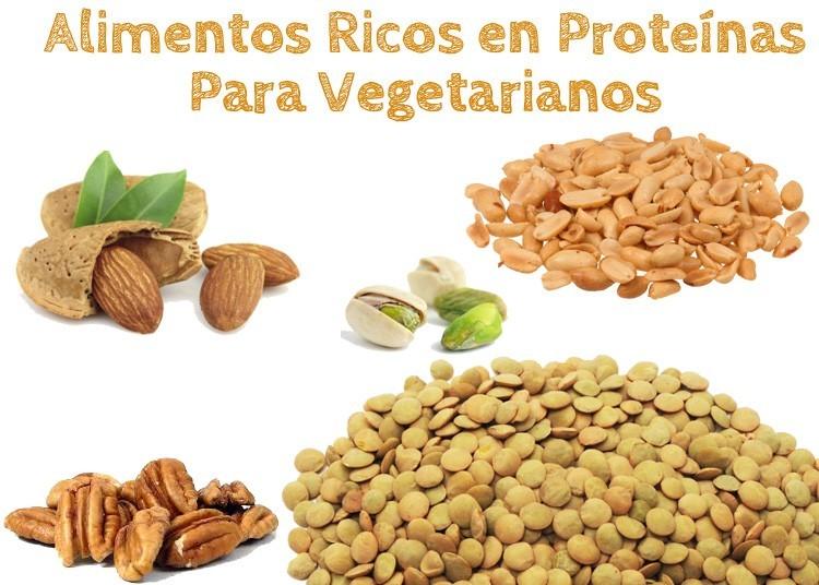 15 Alimentos Ricos en Proteína para Vegetarianos - La Guía