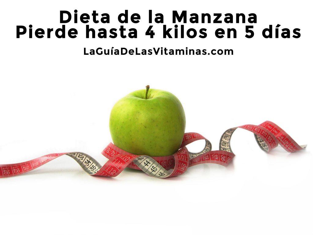 dieta-de-la-manzana