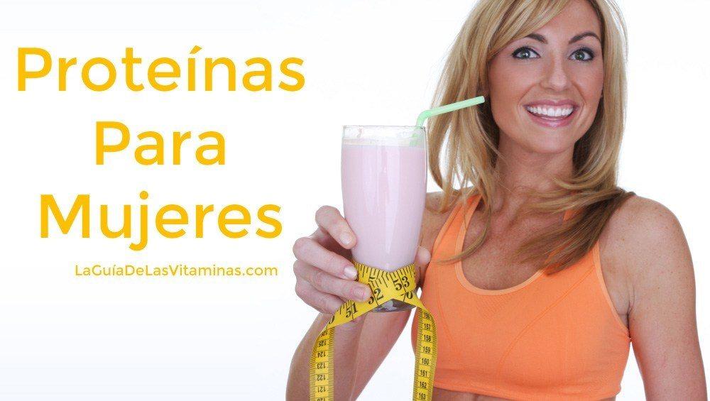 mujer-tomando-proteína