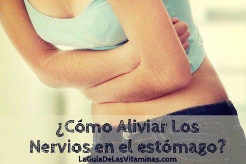 aliviar-nervios-en-el-estómago
