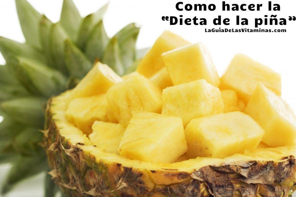 Dieta-de-la-piña