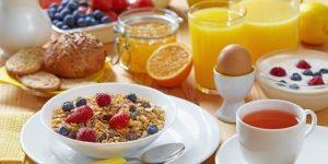 7 desayunos saludables para la semana