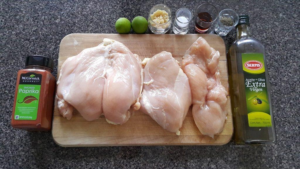 ingredientes-para-preparar-el-pollo-a-la-paprika-para-dieta-cetogenica