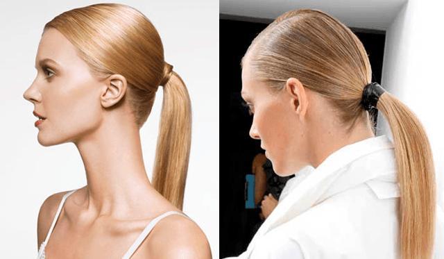 peinados sencillos cola de caballo - Peinados Sencillos