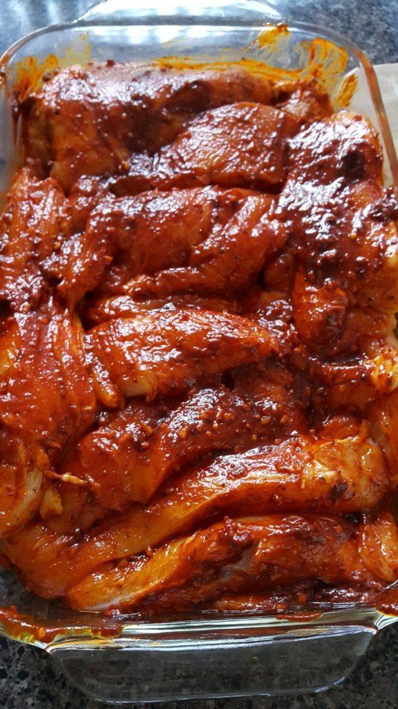 pollo-bañado-con-salsa-paprika