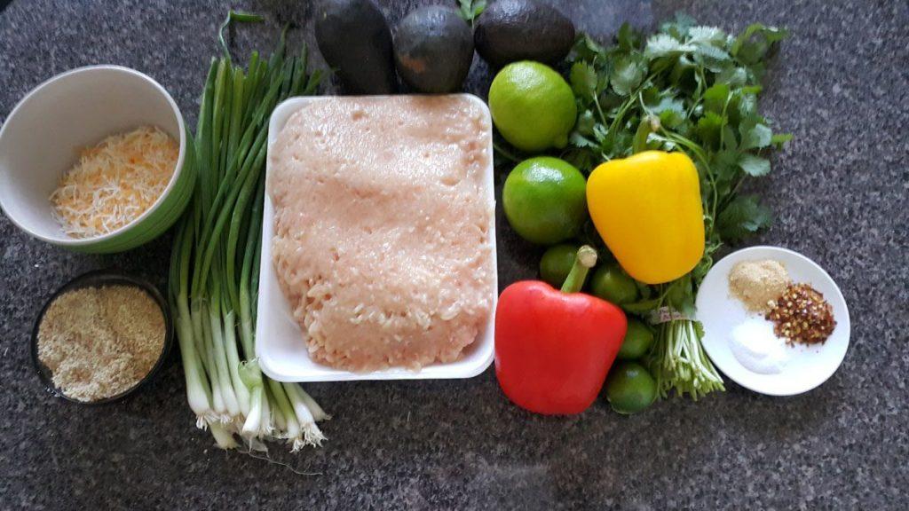 ingredientes-para-albondigas-de-limon-con-pimiento