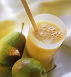 smoothies para bajar de peso- manzana y pera