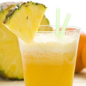 smoothies para bajar de peso- naranja y piña