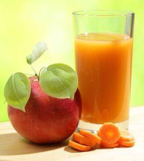 smoothies para bajar de peso- zanahoria y manzana