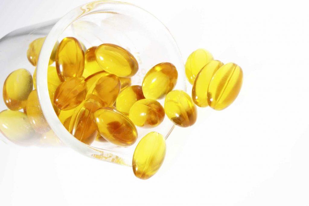 vitamina E-pestañas más largas