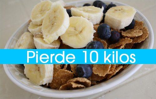Dieta Para Adelgazar 10 kilos En 30 Días Sin Sufrir Hambre