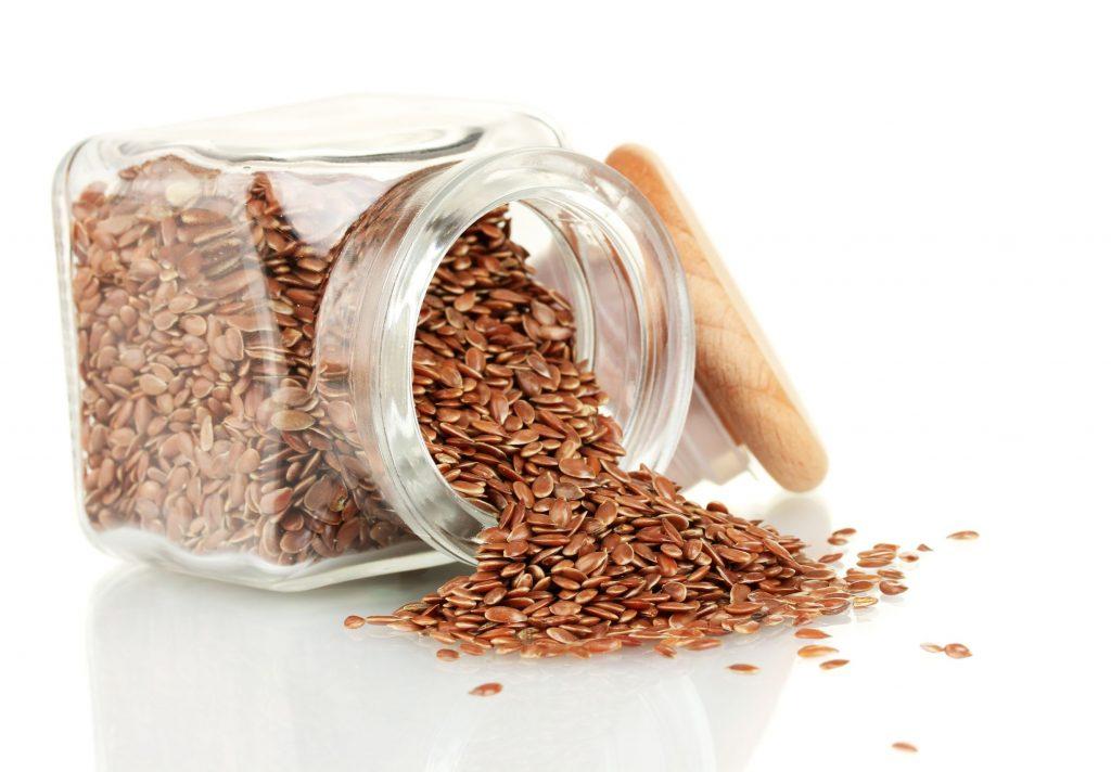 alimentos ricos en fibra-semillas de lino