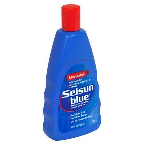 shampoos para la caspa-selsun blue