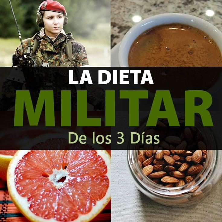 Dieta Militar de los 3 Días: ¿Adelgazar 5 Kilos