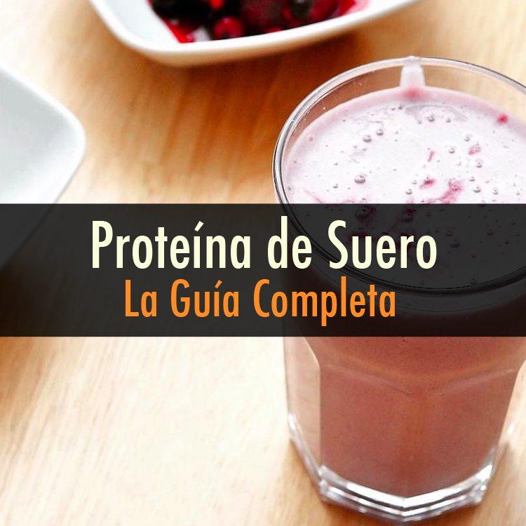 Proteina de suero sirve para bajar de peso
