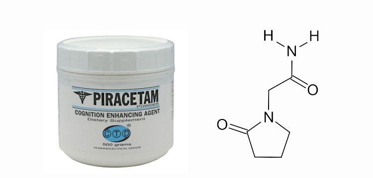 pastillas-piracetam-composicion-quimica